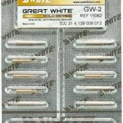 Твърдосплавни борери за рязане - Great White-2 - SS WHITE