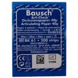Артикулационна хартия на ленти синя - Bausch