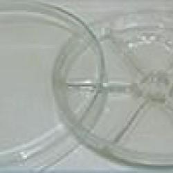 Петри с прегради стъклено - ф150мм