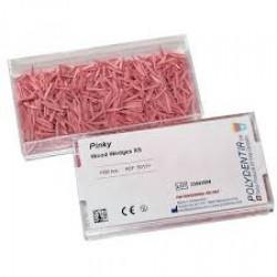 Wood wedges pink / Дървени клинчета розови - Polydentia