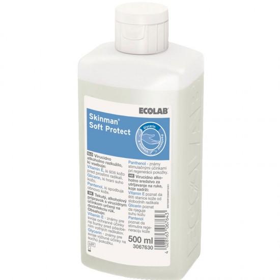 Skinman Soft Protect / Скинман Софт дезинфектант за ръце 500мл